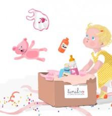 Tiniloo : box cadeau de naissance pas cher
