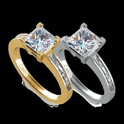 bague de fiançailles solitaire diamant