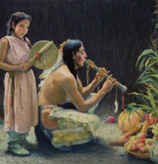 Art amérindien et bijoux navajo en turquoise