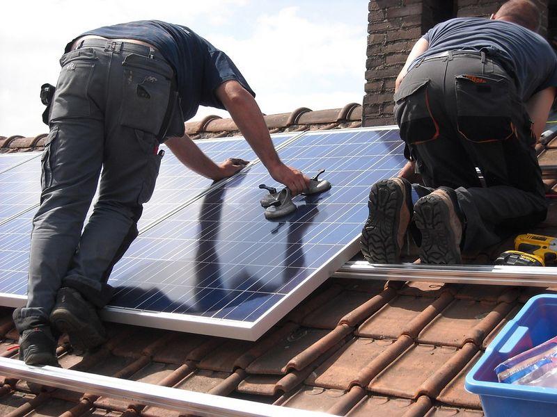 panneau photovoltaique solaire