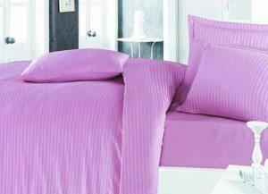 linge de lit en satin