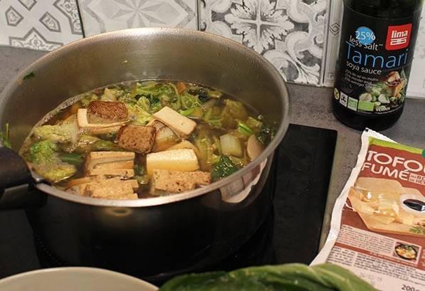 soupe aux choux vegan